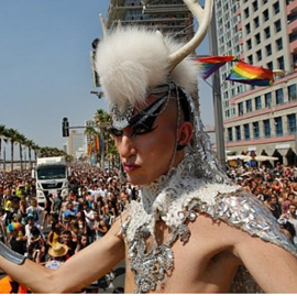 Picture of Over 250,000 revelers flood Tel Aviv for Israel's biggest ever Gay Pride parade