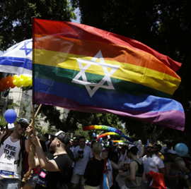 Picture of Revelers take to the streets of Tel Aviv for region's largest Pride Parade