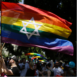 Picture of Bunny ears, bow ties at annual Gay Pride Parade in Tel Aviv
