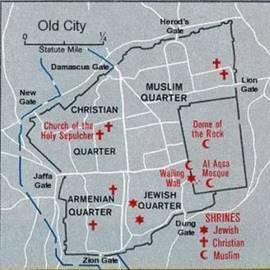 סיור רגלי בעיר ירושלים - A hiking tour in the city of Jerusalem