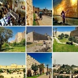 ירושלים סיור ארכיאולוגי-היסטורי - Jerusalem Archaeological-Historical Tour
