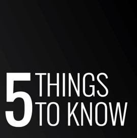 Picture of 5 things to know: 12 July 2018