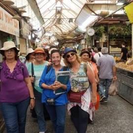 סיור מודרך בשוק מחנה יהודה - Guided tour of Mahane Yehuda market