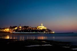 Jaffa at night - יפו בלילה