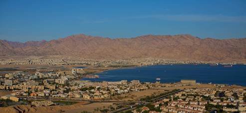 Eilat Panoramic view