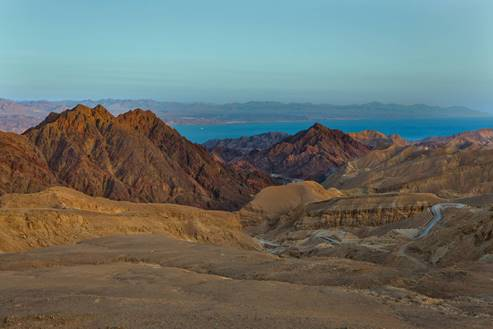 Eilat Mountains and Sea