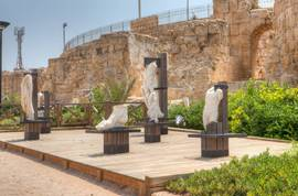 Caesarea Marble statues