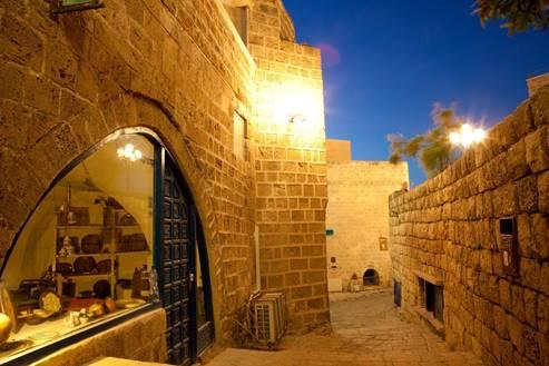 Jaffa Alley in Old Jaffa