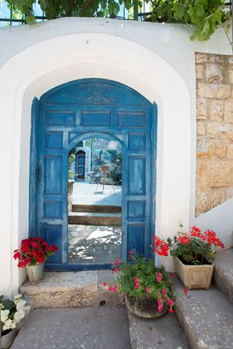 Doors Beyond Doors in Safed - Galilee