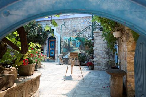 Art Gallery in Safed - Galilee