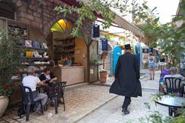 Lane in Safed - Galilee