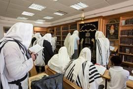 Morning Prayers in Safed - Galilee