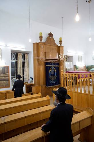 Synagogue in Safed 2