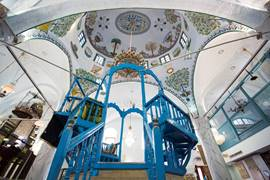 The Abuhav Synagogue in Safed