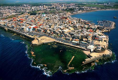 Aerial View of Acre WS Israele