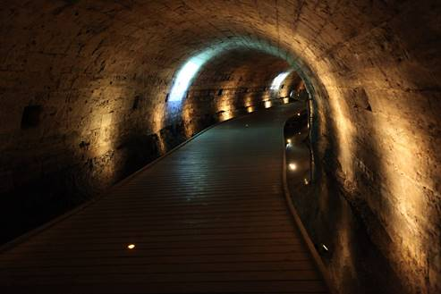 The Templar's Tunnel in Akko 2