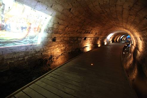 The Templar's Tunnel in Akko 1