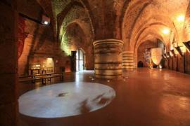 The Crusader Dining Hall at the Hospitaller Fortress