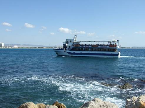 The Ferry Line from Acre to Haifa and from Haifa to Acre