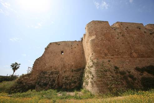 Part of Dahr el Omar's City Wall, Acre