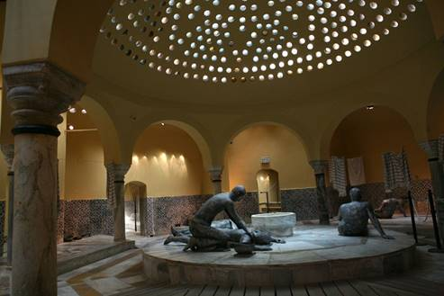 The Turkish bath house in Acre