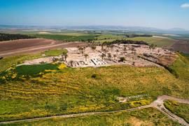 Tel Megiddo Aerial View