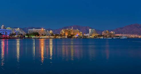 Eilat hotels from the Red Sea