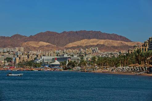 Eilat - Hotels area