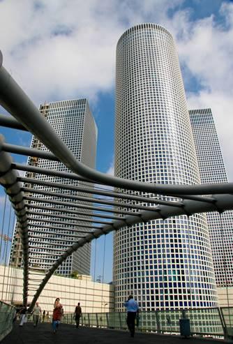 The Azrieli Towers, Tel Aviv