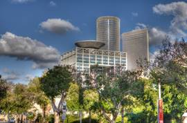 The Azrieli Towers in Tel Aviv 2