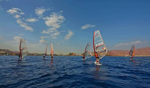 Sailing In The Red Sea, Eilat