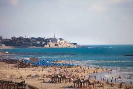 Jaffa beach Tel Aviv - Jaffa area