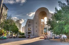 The Tel Aviv Opera house