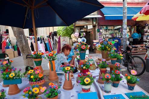 Nahalat Binyamin market, Tel Aviv 3