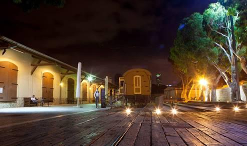 The Tel Aviv - Jaffa - Hatachana, old train station