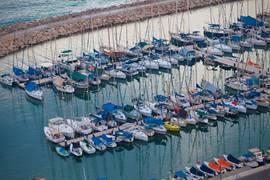 The beautiful Tel Aviv Marina