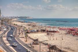 Tel Aviv Beach Promenade 2