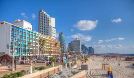 Tel Aviv Beach - Promenade - Hotels greater area