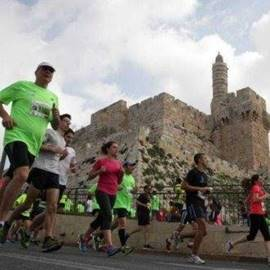 JERUSALEM MARATHON - מרתון ירושלים