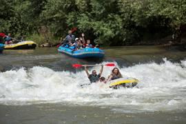 White Water Rafting In Galilee