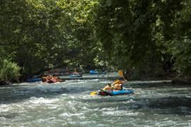 Rafting In The Jordan River