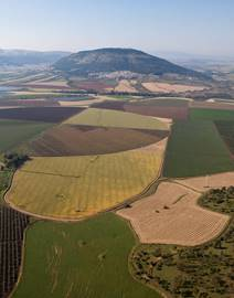 An Aerial View Of Mount Tabor