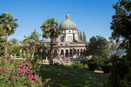 Mount Of Beatitudes Chapel And Garden
