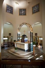 Chapel Of The Mount Of Beatitudes - Inside View