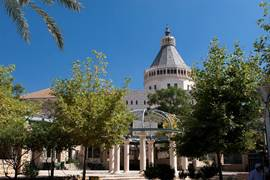 Nazareth Basilica Of The Annunciation 1