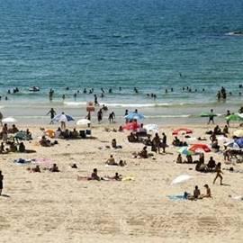 Hofit beach - חוף חופית