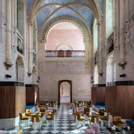 Picture of Inside a former 19th-century monastery, which is now Tel Aviv's coolest hotel
