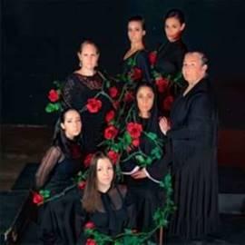 להקת הפלמנקו קומפאס – ALBA - COMPAS DANCE COMPANY