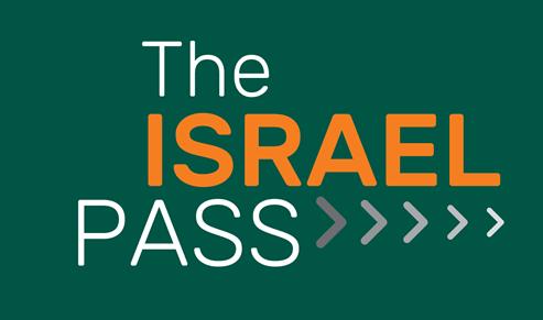 לוגו של כרטיס משולב - Israel Pass logo