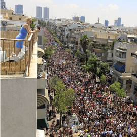 Picture of Pride parade kicks off in Tel Aviv with partyers, protesters